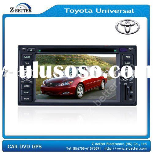 (High resolution) 2 Din Toyota universal Navigation Car with DVD,Bluetooth,Rear view camera