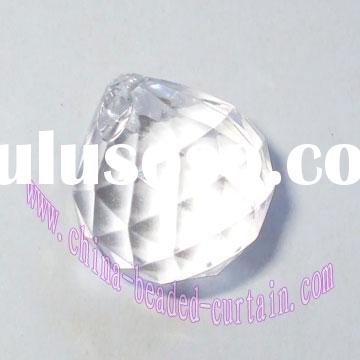 acrylic bead ball, crystal diamond bead, chandelier ball