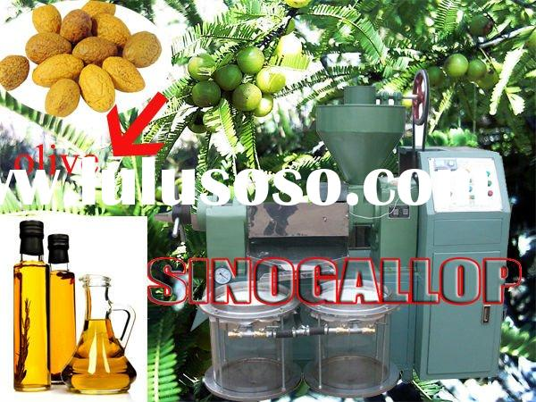 automatic oil mill for olive seeds making olive oil machine