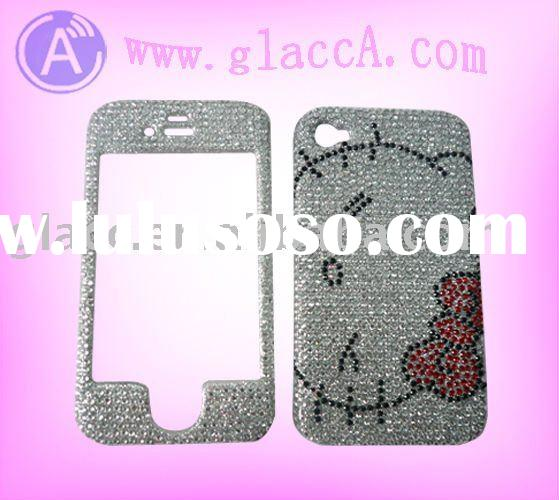 bling case for Iphone 4G Crystal case