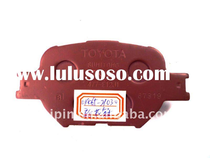 brake pad material for toyota crown