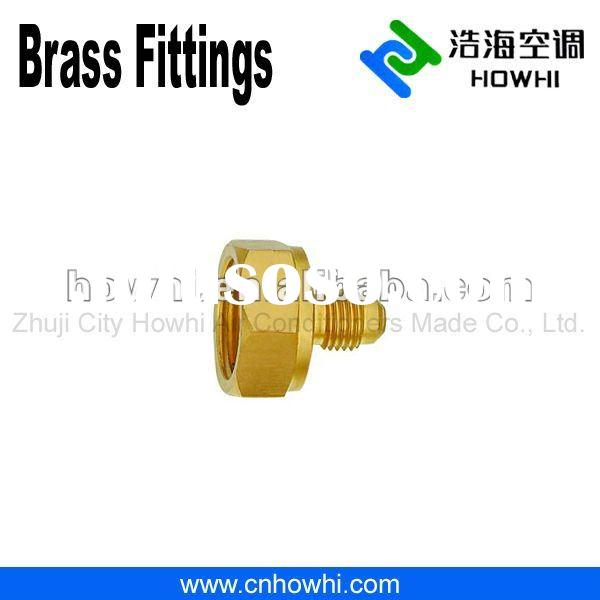 brass pipe fitting, Refrigerant Drum Adapters, for refrigeration and air conditioning