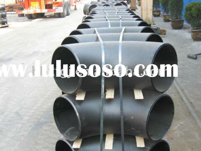 butt welded seam welding carbon steel pipe ELBOW ANSI B16.9 90 deg. LR STD ASTM A234 WBP