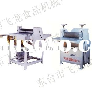 candy machine FLD-600 soft candy flatting and cutting machine