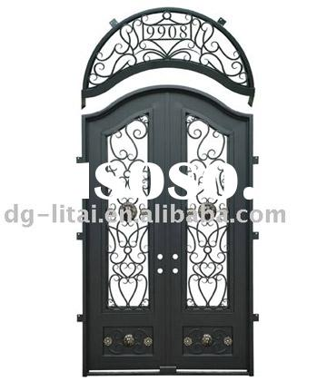 2012 Hot Sale Wrought Iron Window Grill Designs factory