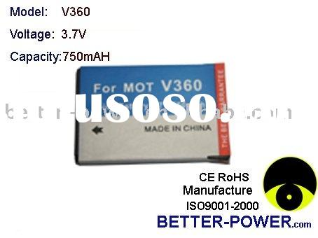 cell phone battery replacement for MOTOROLA V360