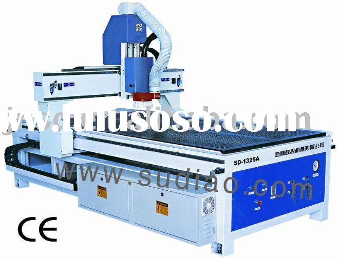 cnc wood engraving machine with vacuum hold down