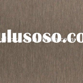 colored decorative stainless steel sheet(bronze)