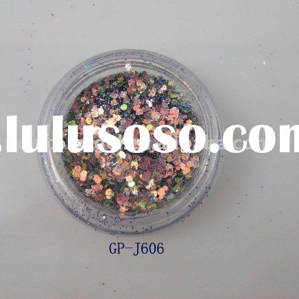 colorful Acrylic Glitter Powder for Nail Enhancement