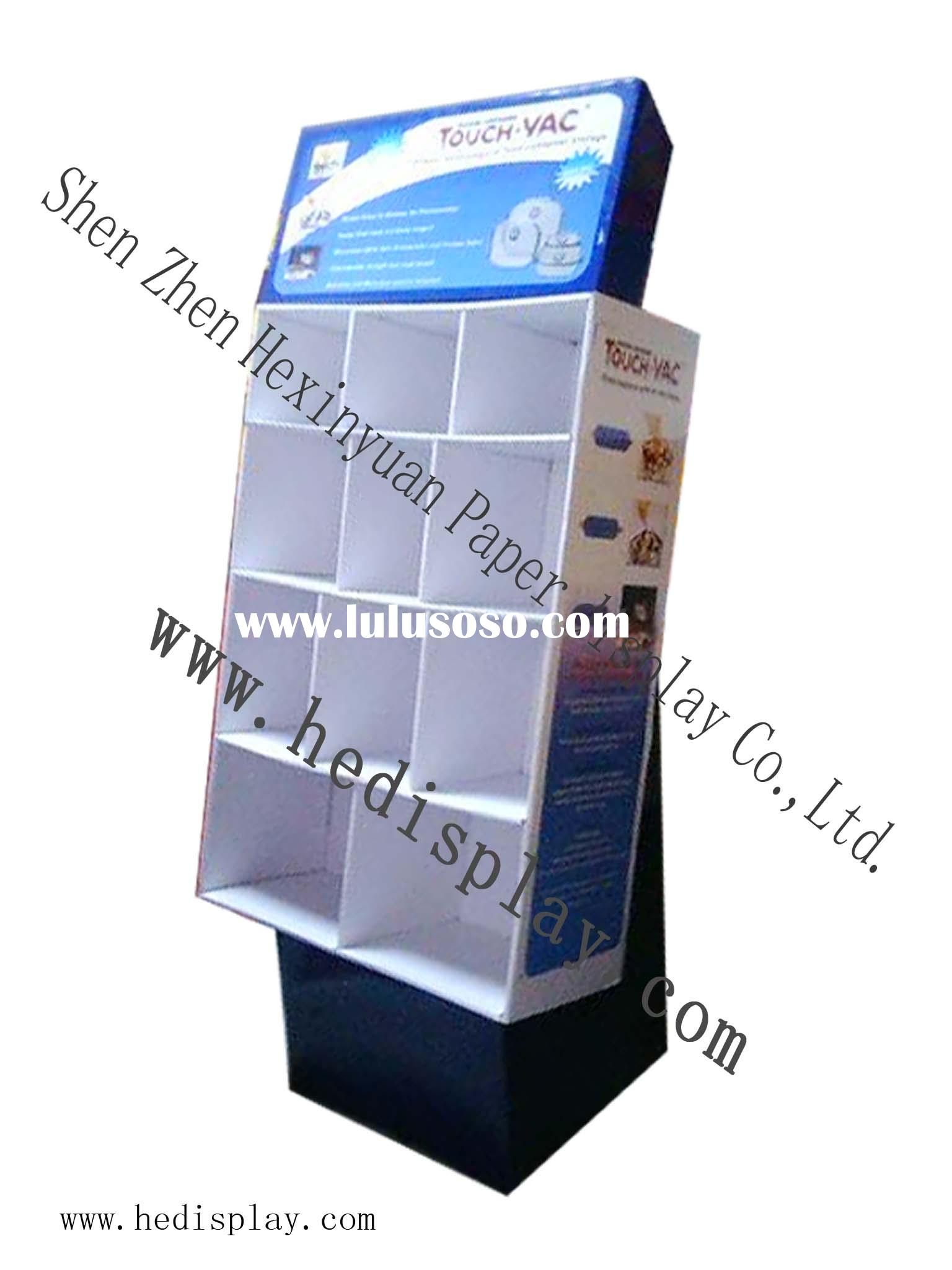 display cabinet / cardboard display / corrugated display / display stand/ calendar post card display