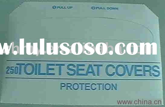 disposable/ travel toilet seat cover paper