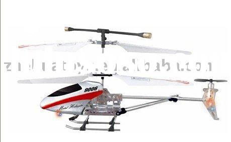 electric remote control helicopter R/C 3.5CH Alloy Helicopter With Gyro (Luxury Small Packing)