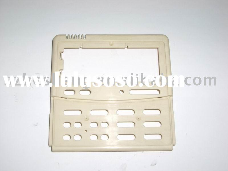 electronic plastic part plastic injection mould yellow chromate surface treament