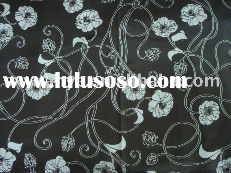 fashion lady's garment fabric 100% silk print