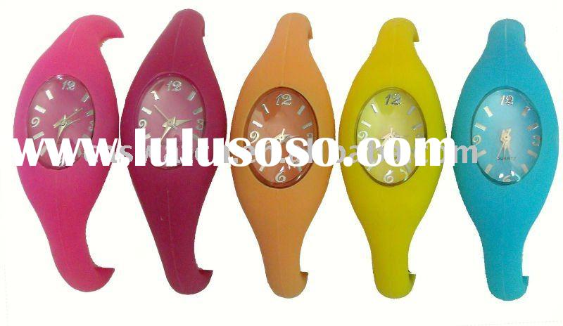 fashion silicone sports bangle watch ion sports silicone watch silicone ion watch