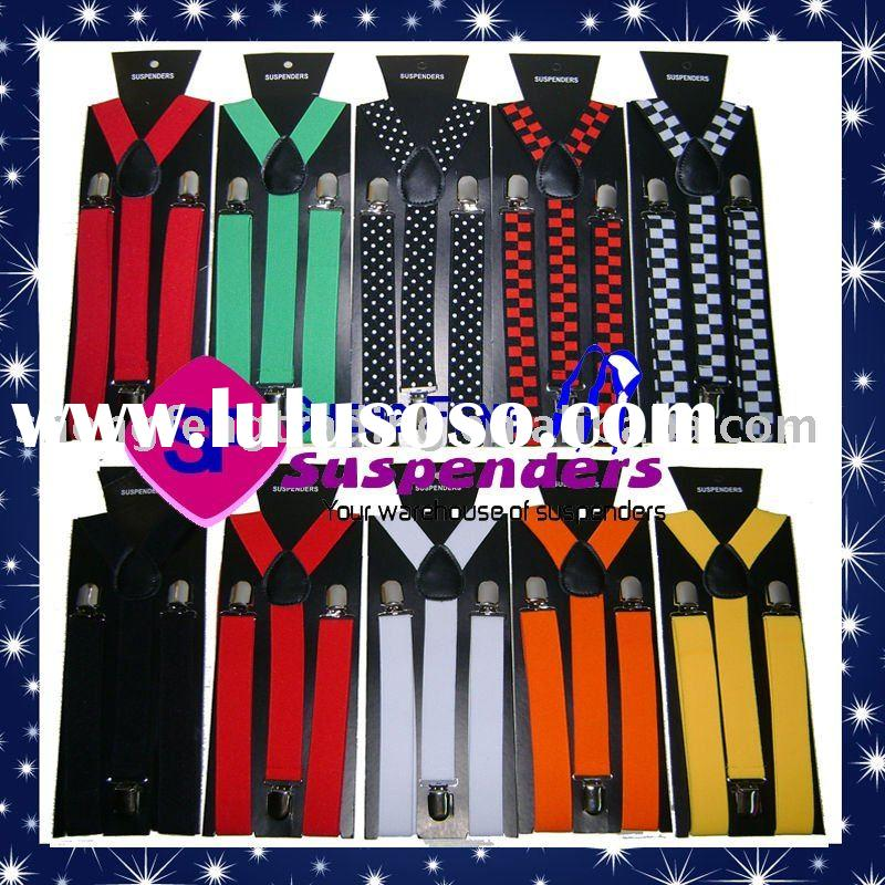 fashion suspenders for women,colorful suspenders