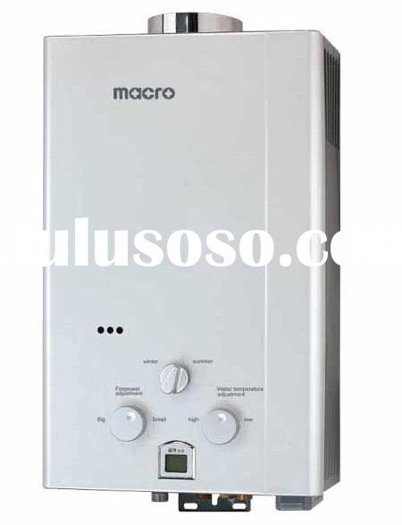 flue type gas water heater