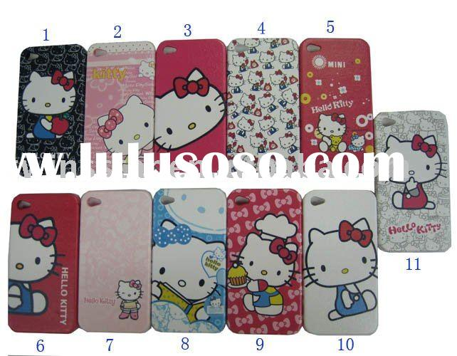 for Apple iPhone 4 Protective Leather Skin Case