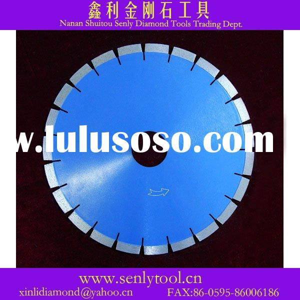 for stone &concrete cutting,silent 105-3000mm diamond saw blade