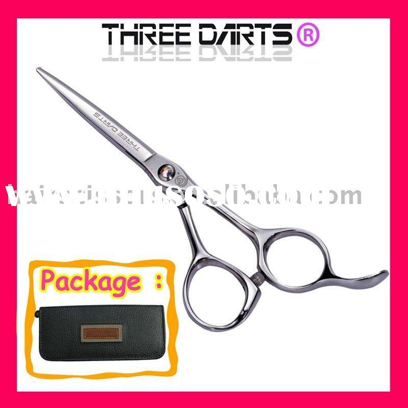free customer's logo stainless steel professional salon hair cutting shears