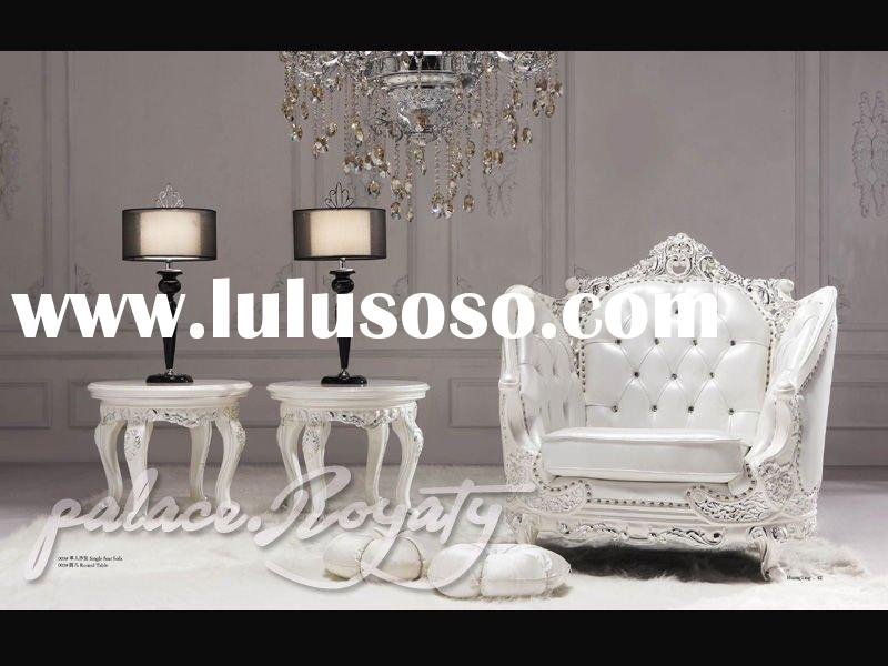 gorgeous palace furniture/amazing neoclassic furniture/ french bedroom set/leather bed/classic bedro