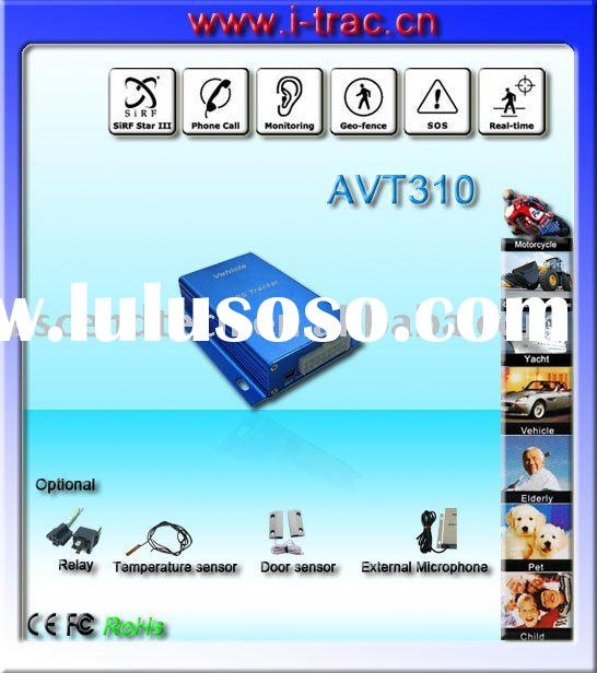 gps car tracker with two way audio, speaker and microphone, voice monitoring, Web Based Tracking Sof
