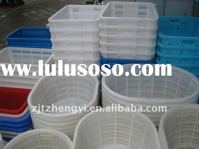 grid round plastic barrel/Take in the case / Storage tank / Plastic case