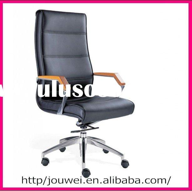 high back~~Modern office leather chair