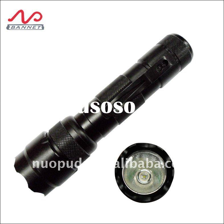 high lumen cree led flashlight T6, rechargeable led torch