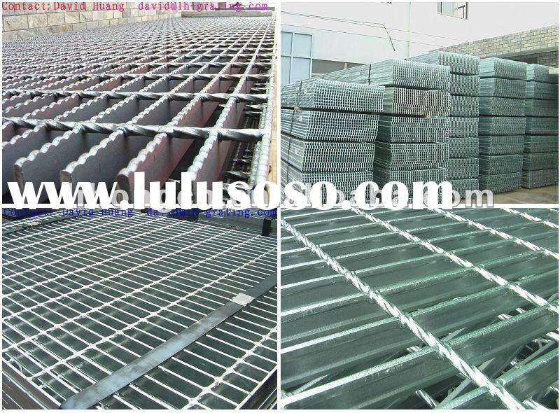 hot dip galvanized serrated steel bar grating