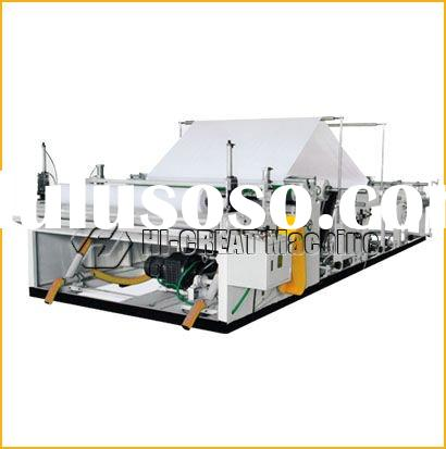 industrial toilet paper and paper towel machine