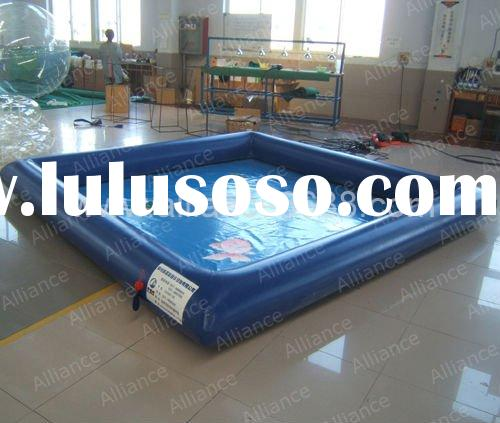 inflatable fish pool 4x4x0.3m kids water game