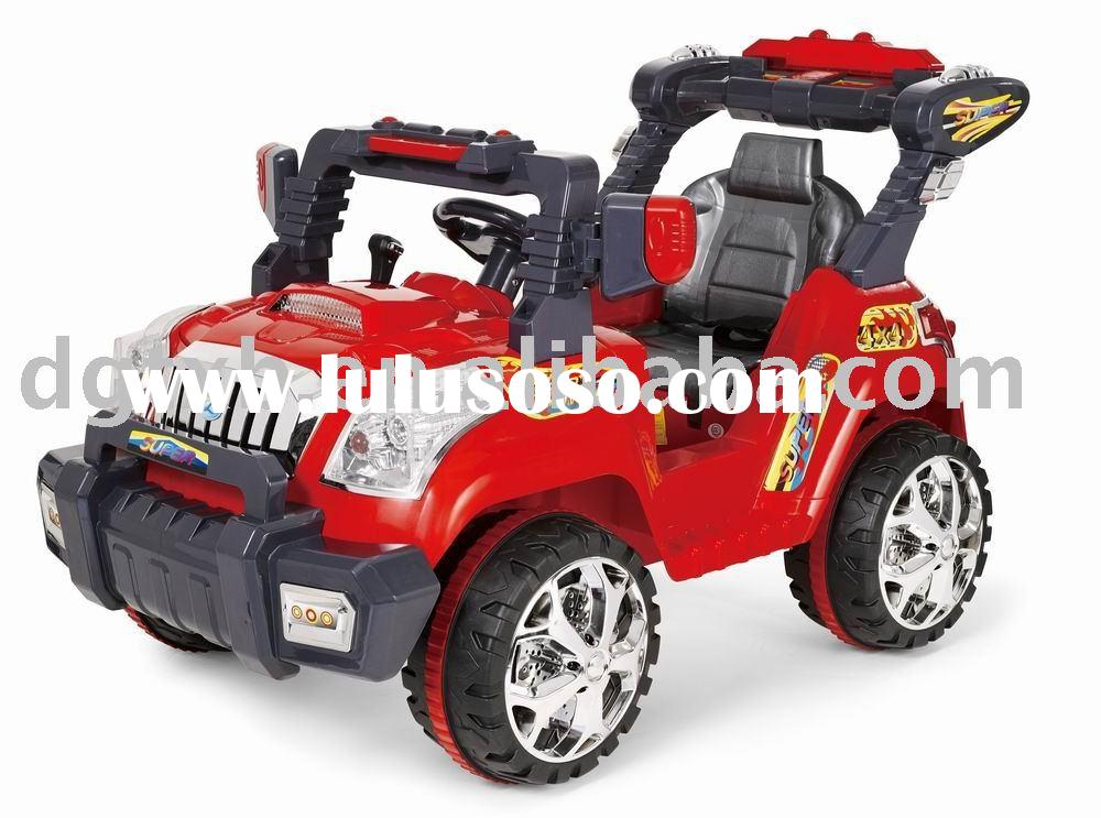kid battery operated car 822 with MP3 music working lights remote control