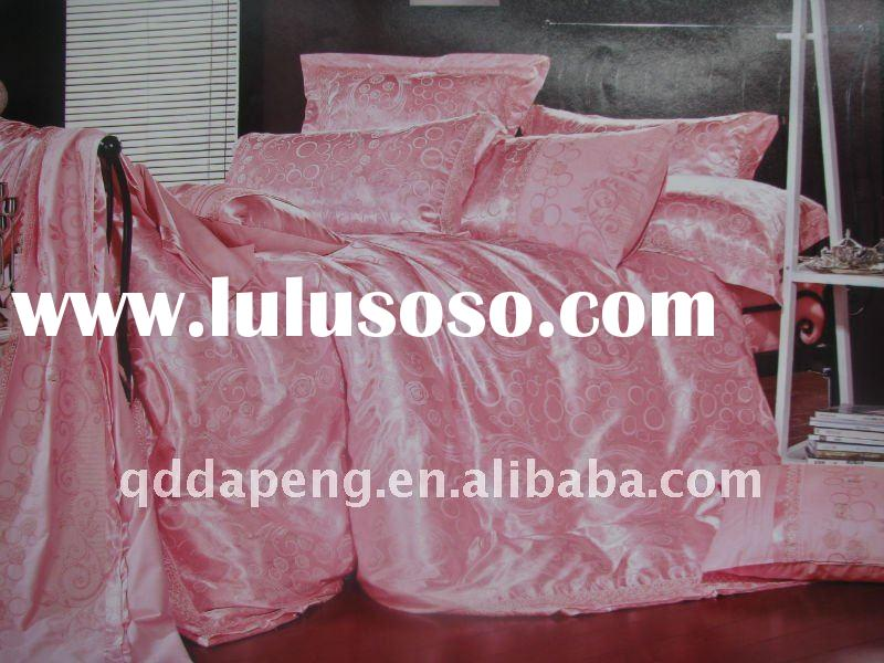 king and queen silk bedding set