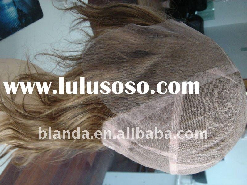 lace front European natural wave human hair wigs