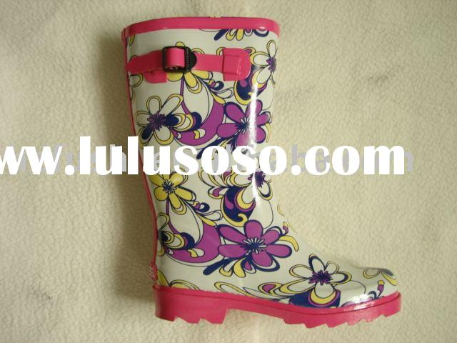 lady rubber boots(women rubber boot) rain boots