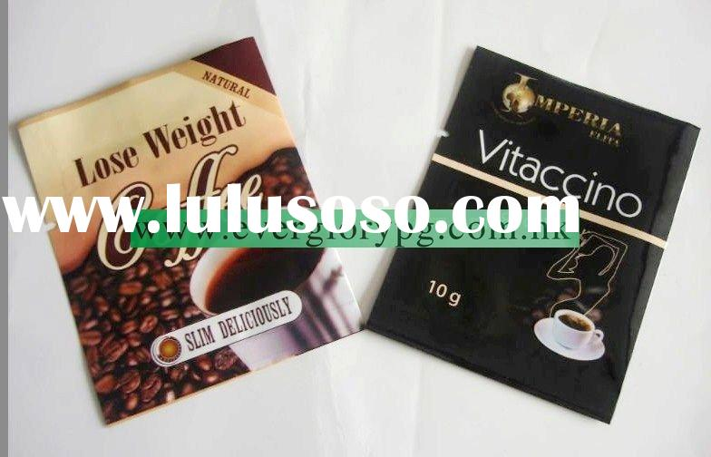 lose weight instant coffee bag