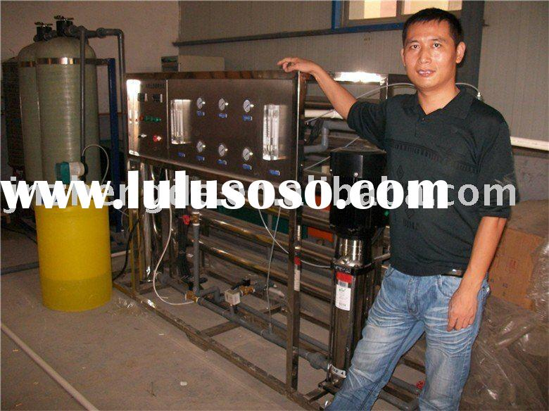 mineral water plant machinery cost in China
