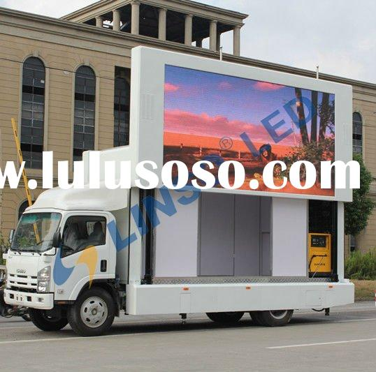 mobile truck advertising, mobile billboard truck, LED truck