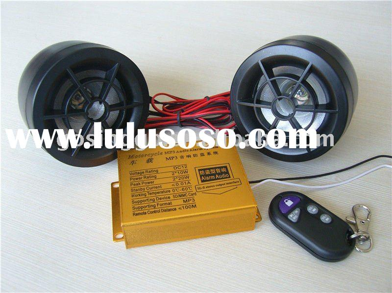 motorcycle accessories/motorcycle audio system