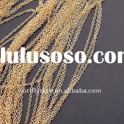 necklace chains different types of necklace plain chain 1.5mm thin chain