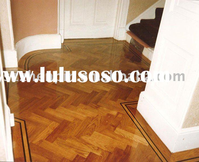 oak wood herringbone parquet flooring