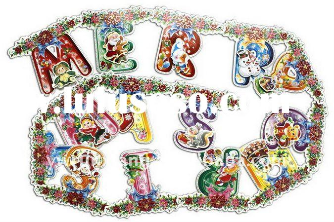 perfect christmas decoration cheap party christmas banner
