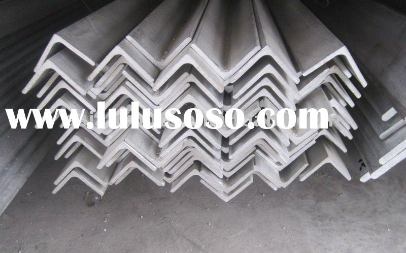 pickled solution heat treatment stainless steel angle bar