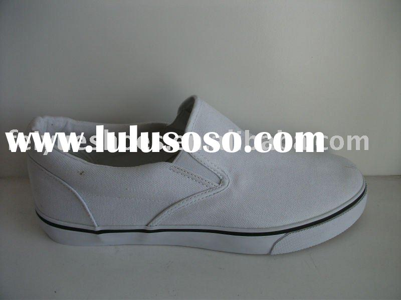 white canvas slip on shoes bulk white canvas