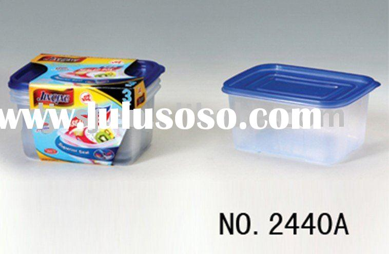 plastic microwave disposable food container box