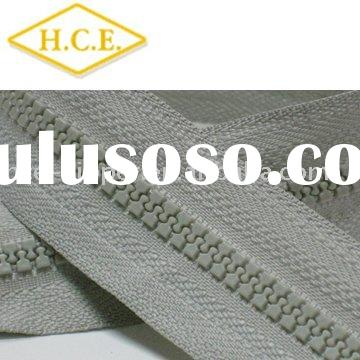 plastic zipper for bag