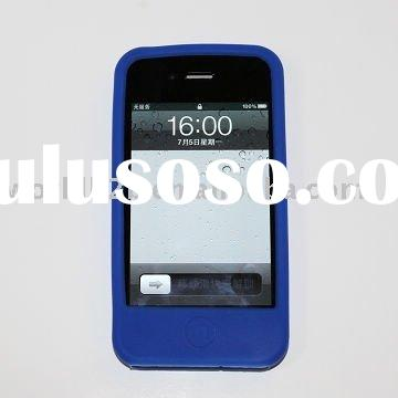 silicone case for Apple iPhone 4G 4s