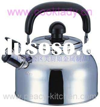 stainless steel tea pot( whistling kettle,casserole)