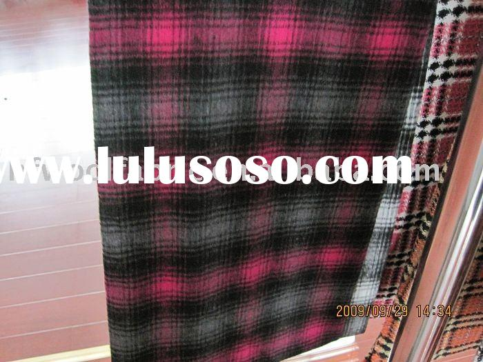 tartan plaids Woolen Fabric wool fabric homespun plaids fabric